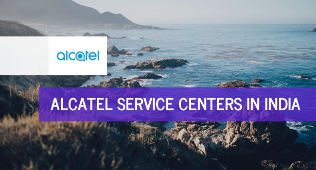 Alcatel service centers in India.
