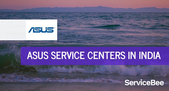Asus service centers in India.