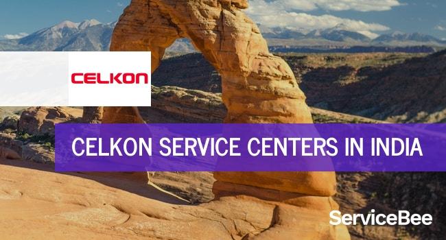 Celkon service centers in India.