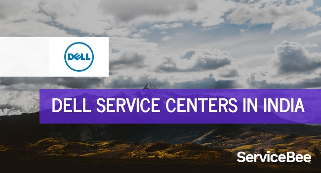 Dell service centers in India.