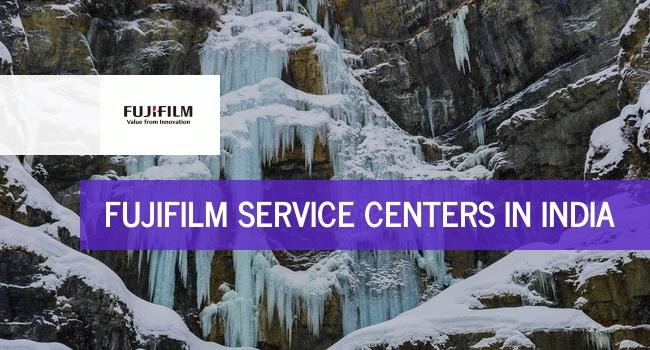 Fujifilm service centers in India.