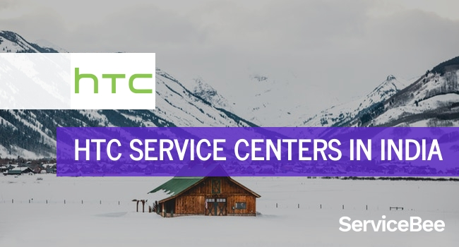 Htc service centers in India.