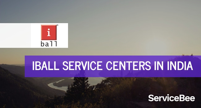 Iball service centers in India.