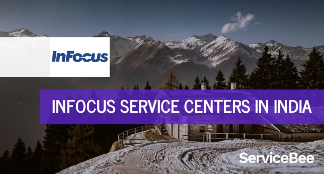 Infocus service centers in India.