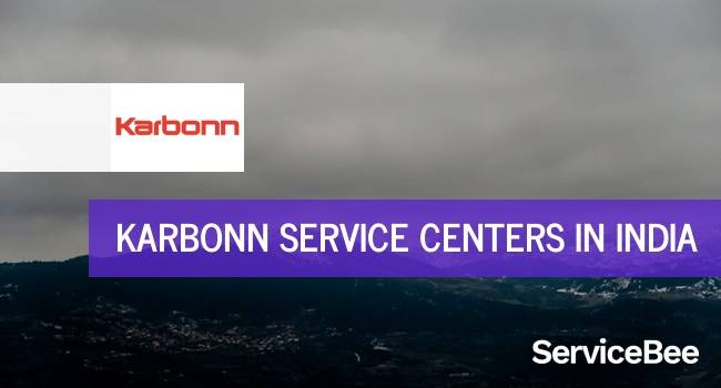 Karbonn service centers in India.