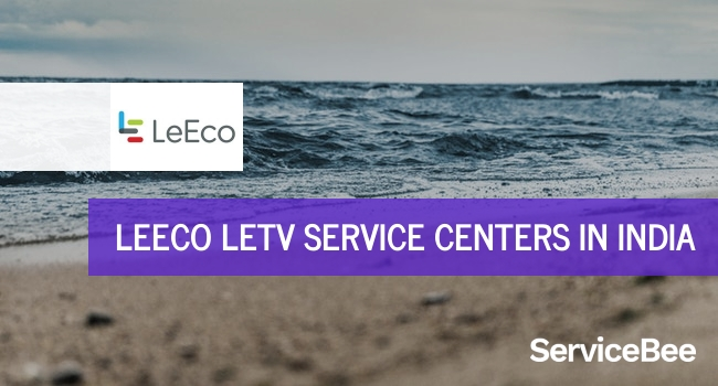Leeco letv service centers in India.