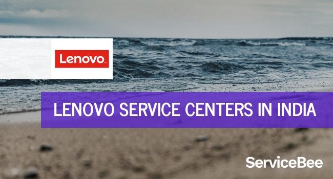 Lenovo service centers in India.