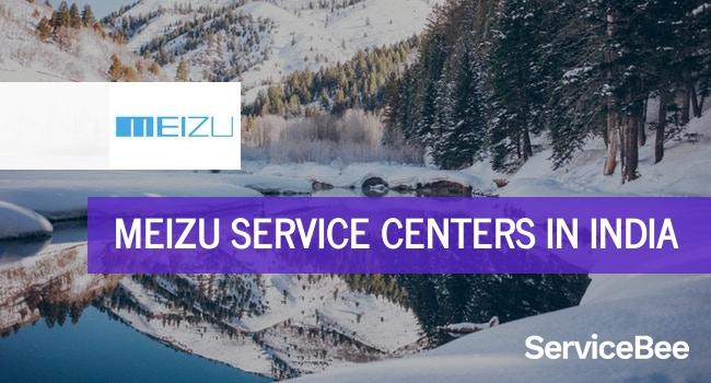 Meizu service centers in India.