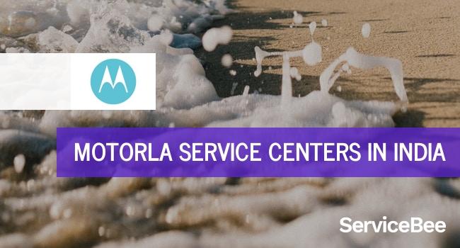Motorola service centers in India.