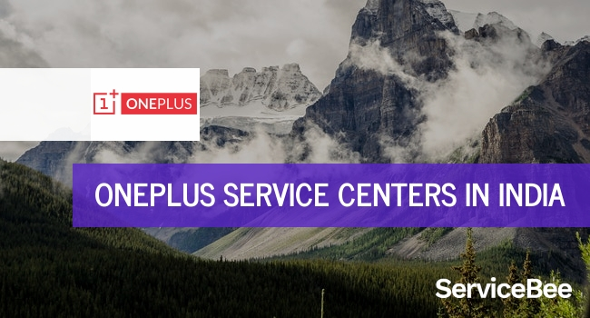 Oneplus service centers in India.