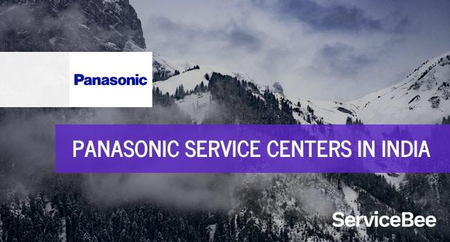 Panasonic service centers in India.