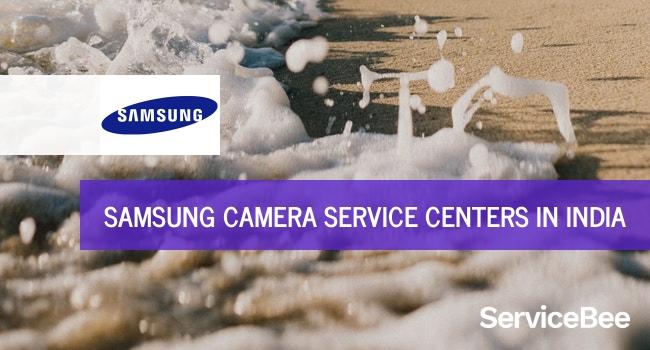 Samsung camera service centers in India.