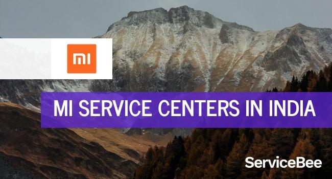 Xiaomi mi service centers in India.