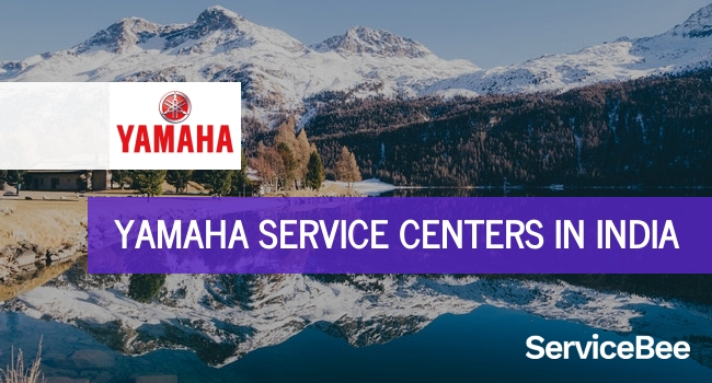Yamaha service centers in India.